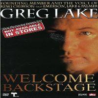 Cover Greg Lake - Welcome Backstage [DVD]